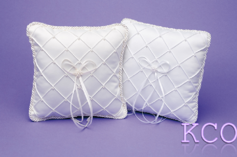 Ring Cushions Style R0104 White~ Special Occasion